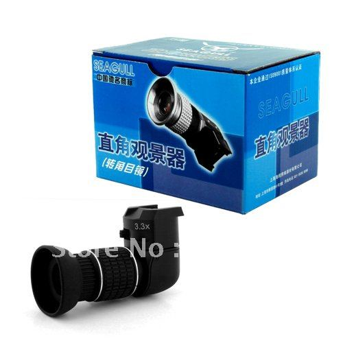 Mouette 1x-3.3x viseur d'angle pour Canon 60d 600d Nikon d90 d5200 pentax k5 olympus sony appareil photo reflex