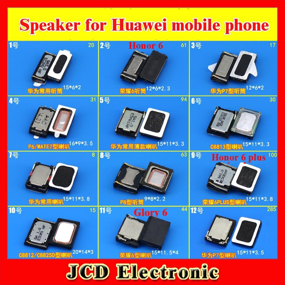 ChengHaoRan 1x Speaker earpiece Handset for Huawei P9 P7 P6 MATE7 Honor 6 PLUS C8812 C8813 Mobile phone repair parts replacement