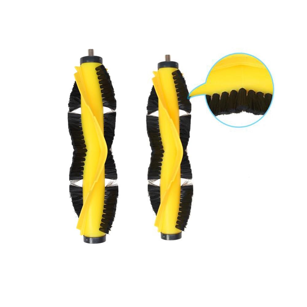 (For B6009) Orginal V-shaped Central Brush for Robot Vacuum Cleaner,2pc/pack for b6009 left