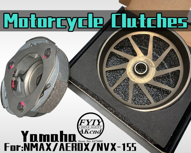Sprzęgła motocyklowe dla AEROX 155 NVX 155 NMAX 155 akcesoria motocyklowe sprzęgło silnika