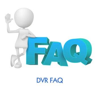 DVR Preguntas Frecuentes