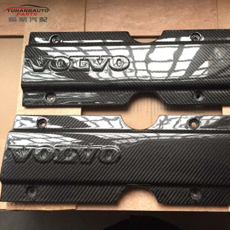 For Volvo 850 S70 V70 T5 T5R Carbon Fiber Plug Cover Carbon Fiber