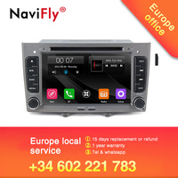 ¡Envío Gratis! 2Din reproductor de dvd del coche de radio de audio para Peugeot 308 Peugeot 408 308SW con navegación GPS BT RDS SD 1080 P video gratis micrófono mapa