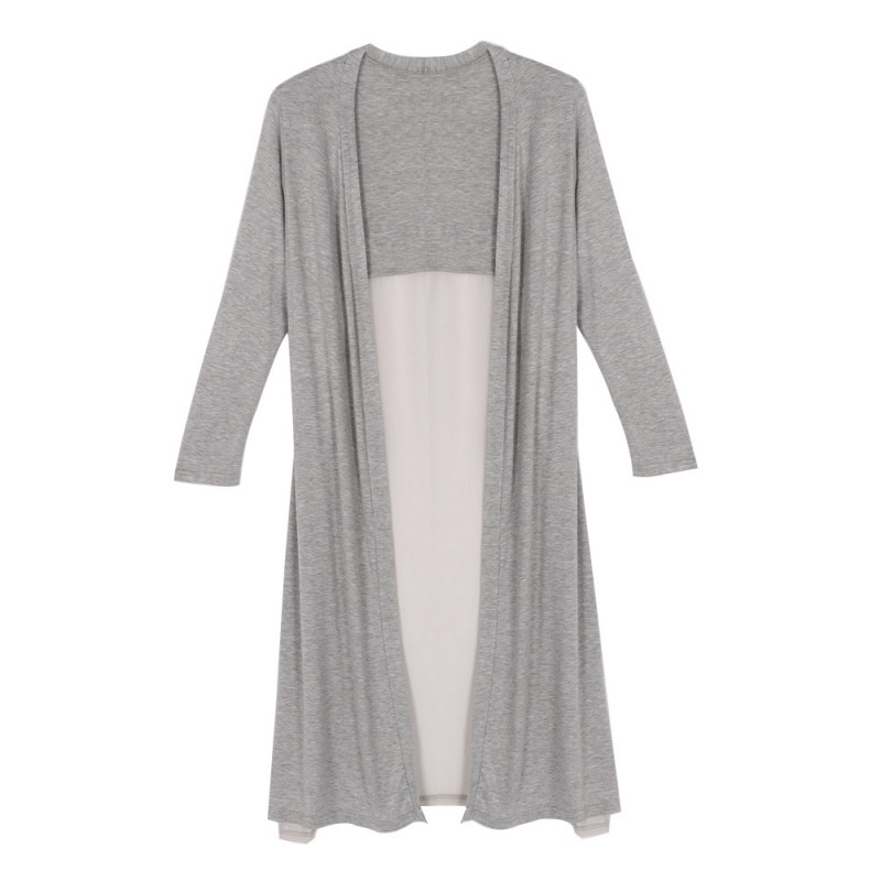 Lady Maxi Cardigan Feminino Sweater Oversized Coat Women Knitted ...