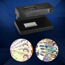 Portable  Cash Detector Currency  Desktop Counterfeit Bill Detector Cash Currency Banknotes Notes Checker Support Ultraviolet UV