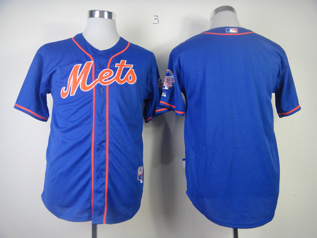 Sale cheap plain shirts NY New York Mets blank Black Blue baseball jerseys  with no name no number wholesale-in Baseball   Softballs from Sports ... 1844fb757