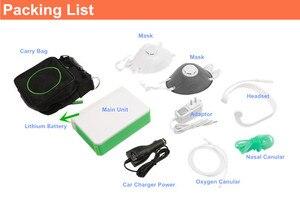 Image 5 - DC12V Li Battery Oxygen Concentrator Health Care Medical Car Use 110V 220V Mini Portable Oxygen Generator O2 Making Machine