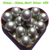 Silver Imitation Pearls Acrylic Round Bead ABS Chunky Bubblegum Bead For DIY Jewelry Making A59 6mm 8mm 10mm 20mm 23mm 25mm 30mm