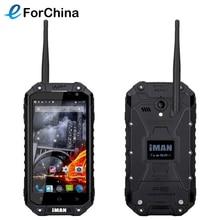 IMAN i6 Téléphone 16 GB ROM 2 GB RAM 4.7 pouce Écran Android 4.4 MTK6592 Octa Core 1.57 GHz Smartphone 13.0MP Caméra 3G WCDMA