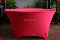 NO.14 Dark Red Color Lycra/Spandex Table Cover/Tablecloth/Chair Cover for Wedding/Hotel/Banquet/Party/Home decor&textile