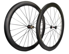 700C 50mm עומק כביש אופני פחמן גלגלי 25mm רוחב אופניים נימוק מכריע/צינורי זוג גלגלי פחמן U צורה שפת להתאמה אישית מדבקות