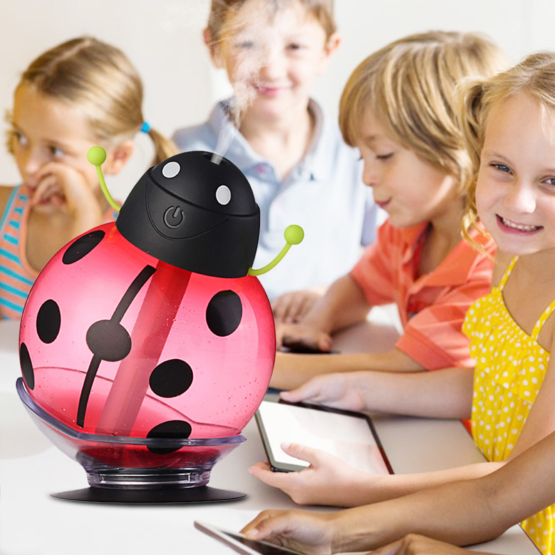 Cartoon USB Aromatherapy Essential Oil Diffuser LED Light 260ml Ultrasonic Cool Mist Aroma Air Humidifier Office Baby Bedroom прогулочная коляска cool baby kdd 6699gb t fuchsia light grey
