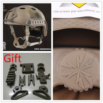 EMERSON FAST Helmet PJ protective helmet Pararescue Jump Navy Seals plate EM5668C US Navy board
