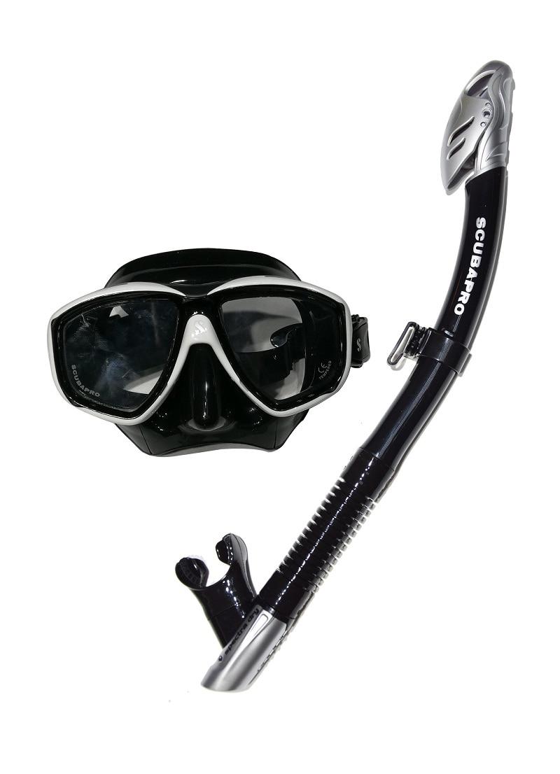 купить ScubaPro MASK SNORKEL SET Flux Twin Mask with Spectra Dry Snorkel недорого