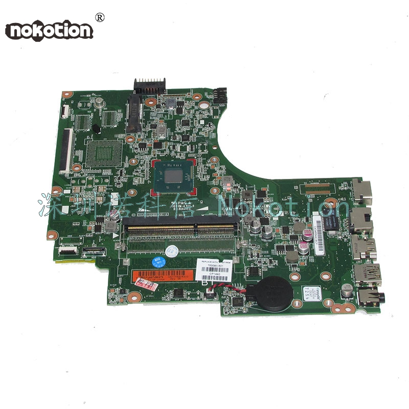 NOKOTION 753099-501 753099-001 Laptop Motherboard For HP 15-D Main Board N3520 CPU works 744009 501 744009 001 for hp probook 640 g1 650 g1 motherboard socket 947 hm87 ddr3l tested working