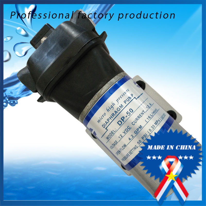 12V DC 50PSI 16L/min Small Water Pump/Agriculture Sprayer Pump