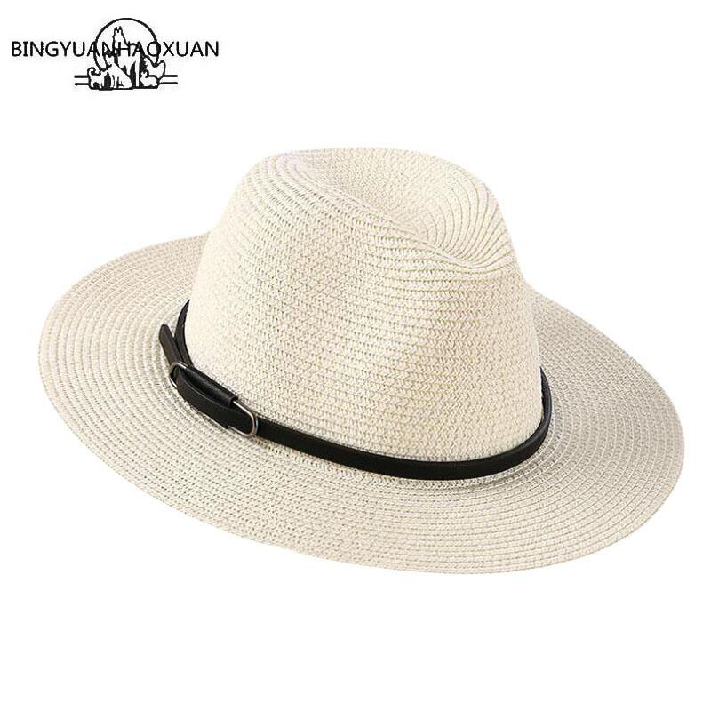BINGYUANHAOXUAN Brand 2018 Ladies Sun Hat Fashion Casual Women Straw Summer Beach Hat Wholesale Hats Stylish Cap