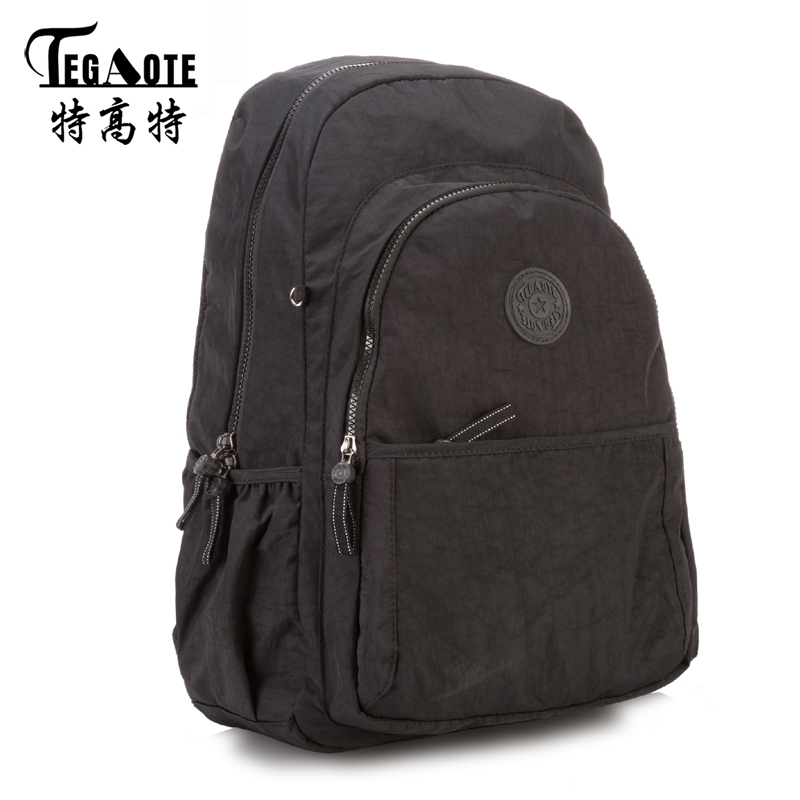 TEGAOTE Graffiti School Backpack for Teenage Girl Mochila Feminina Women Travel Backpacks Nylon Waterproof Casual Laptop Bagpack