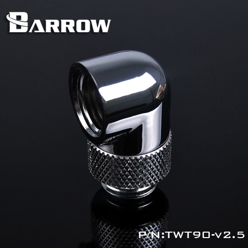 Barrow TWT90-v2.5, G1 / 4 '' Thread 90 Degree Rotary Fittings, - Computer componenten - Foto 2