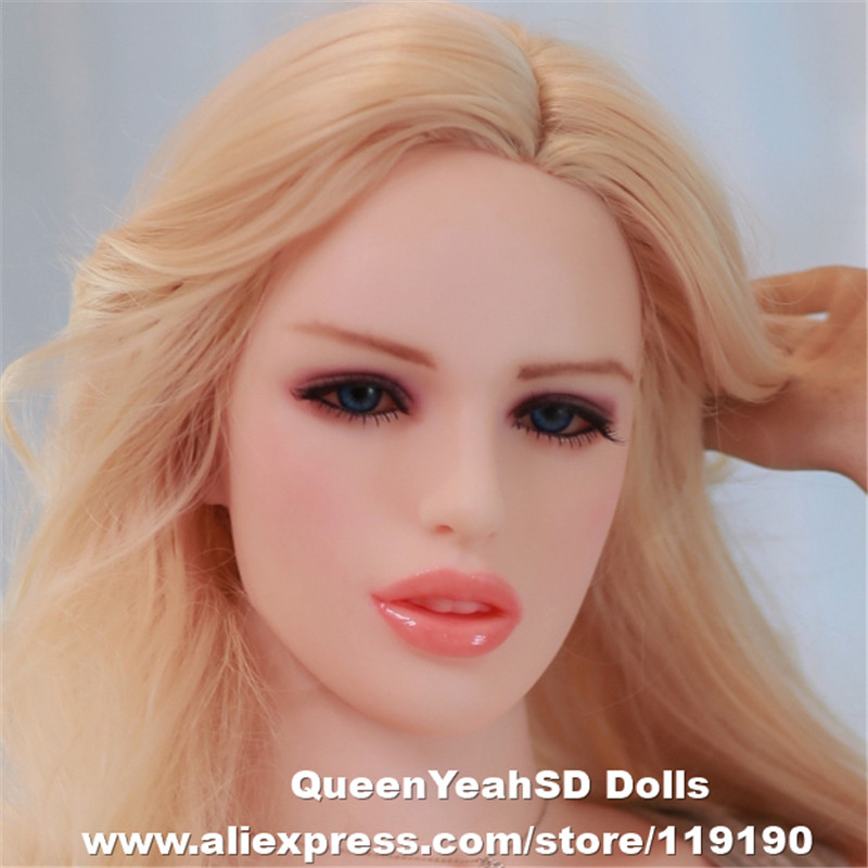 Solid Silicone <font><b>Sex</b></font> <font><b>Doll</b></font> <font><b>Head</b></font> Mannequin <font><b>Chinese</b></font> Love <font><b>Dolls</b></font> <font><b>Heads</b></font> With Real Oral <font><b>Sex</b></font> Products From Sexy Shop image