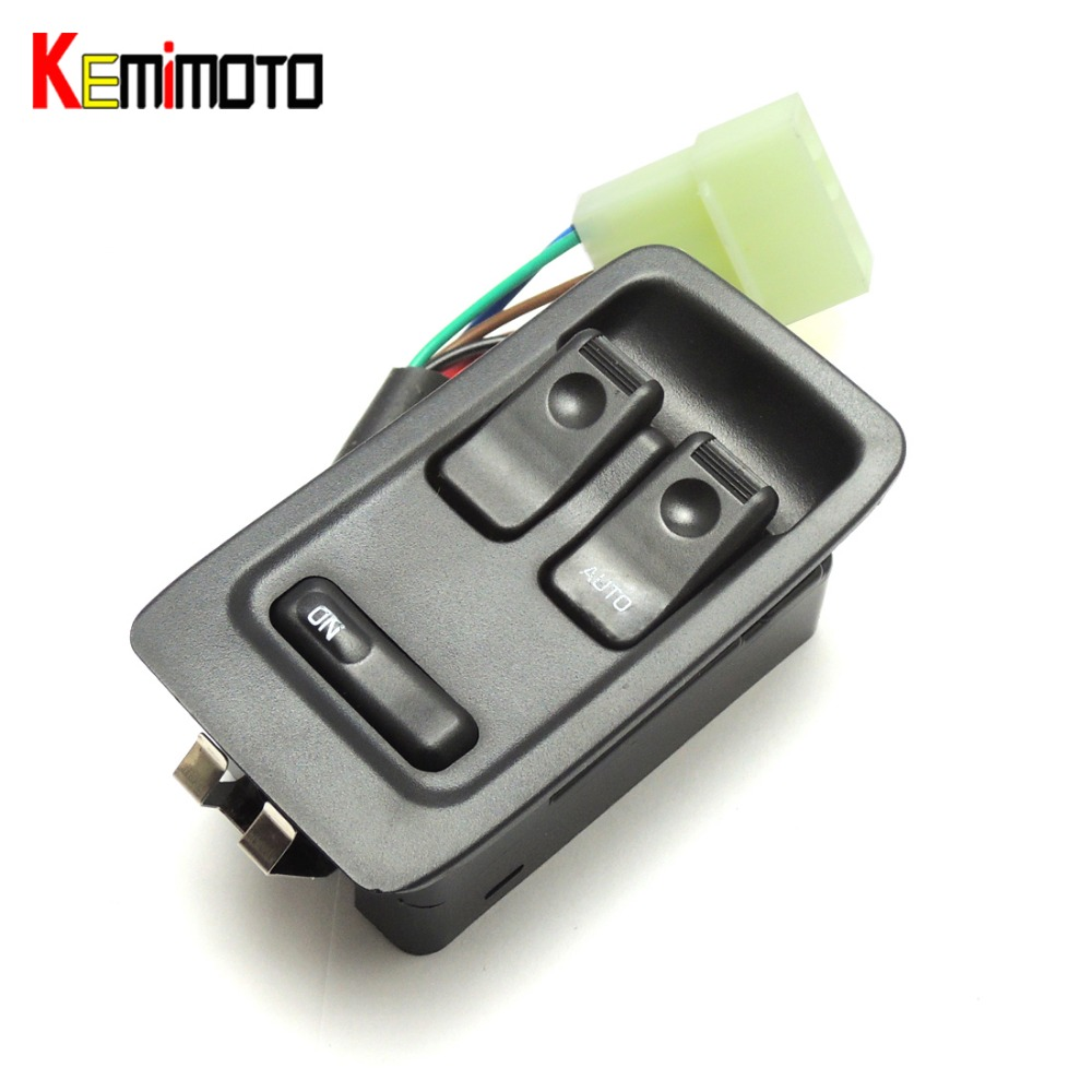 KEMiMOTO Right Hand Electric Power Window Master Switch For MAZDA RX-7 FD3S 1992-2002 kemimoto headlight level sensor for toyota tacoma for mazda rx 8 for lexus es330 8940748020
