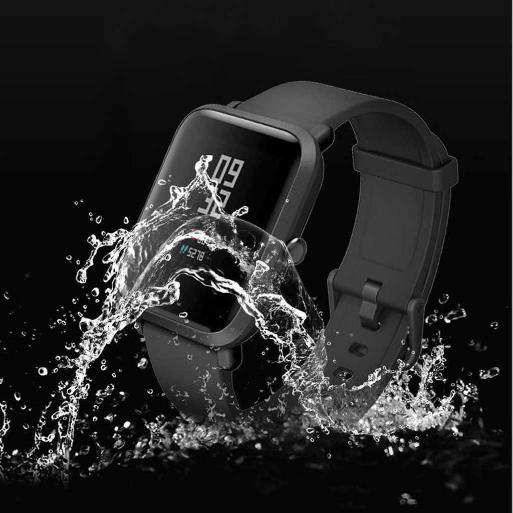 ברור מסך מגן עמיד למים Frostedfilm עבור Huami Amazfit ביפ נוער שעון חדש הגיע #20191016