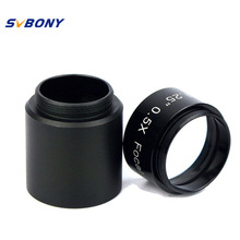 Cheaper Focal Reducer x 0.5 to Video Camera+Telescope 1.25″ C Mount Adapter Green Coated for Telescope Astrophotography Astronomy W2159