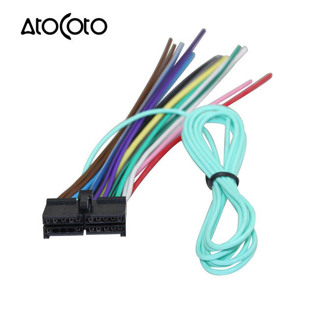 AtoCoto Wire Harness Adapter for Jensen Parrot Car CD DVD Radio