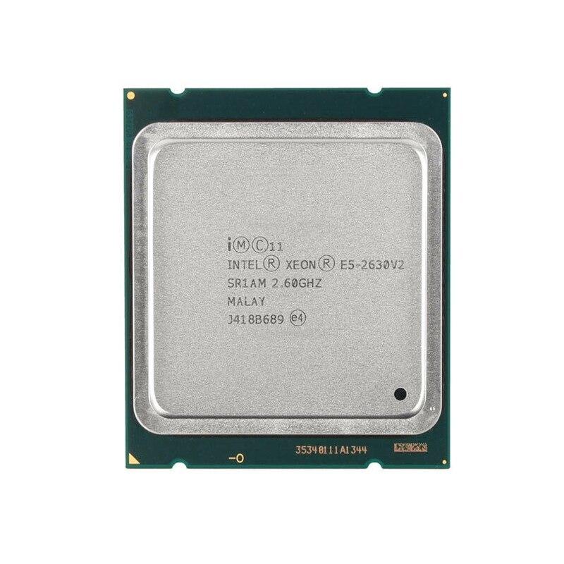 Intel Xeon E5 2630 V2 Server processor SR1AM 2.6GHz 6-Core 15M LGA2011 E5-2630 V2 CPU