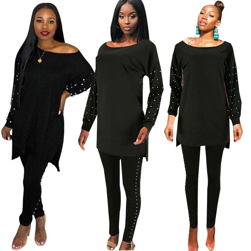 22f4b07103f 4sizes 2018 African suits For Women African beards Maxi Autumn suits  Dashiki Dress Knee-length skirt with pants Africaine Femme