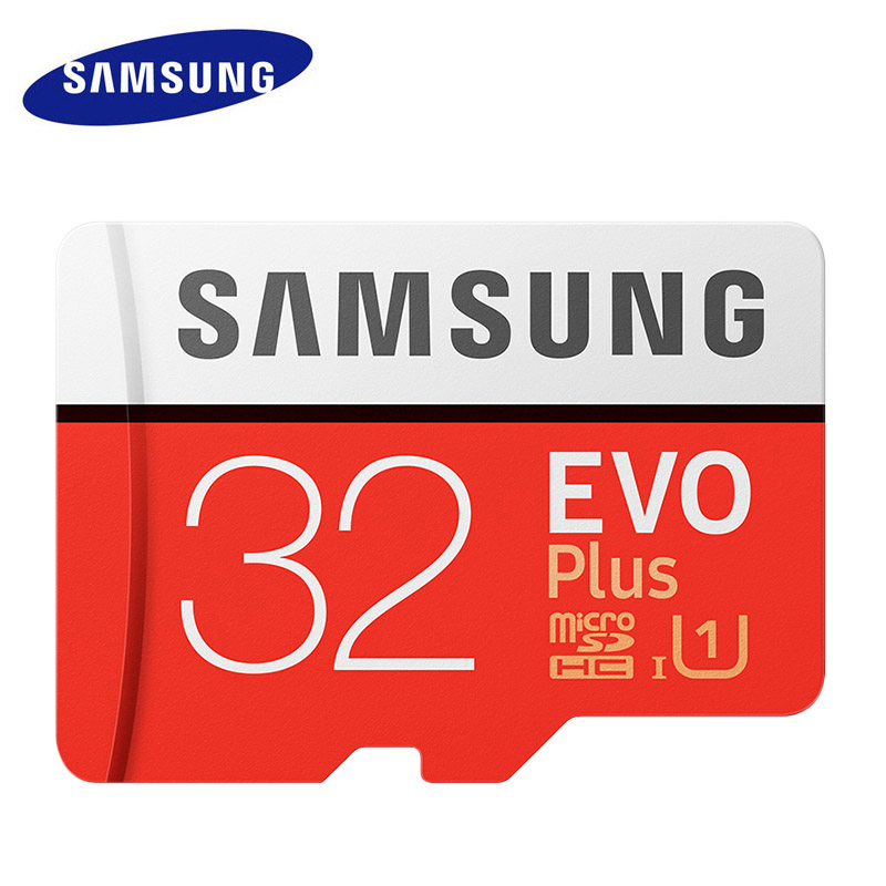 SAMSUNG EVO+ Micro SD Card 128GB 32GB Class10 SDHC SDXC UHS-1 Memory Card 256GB MicroSD TF Card 64GB 100MB/s Free Shipping