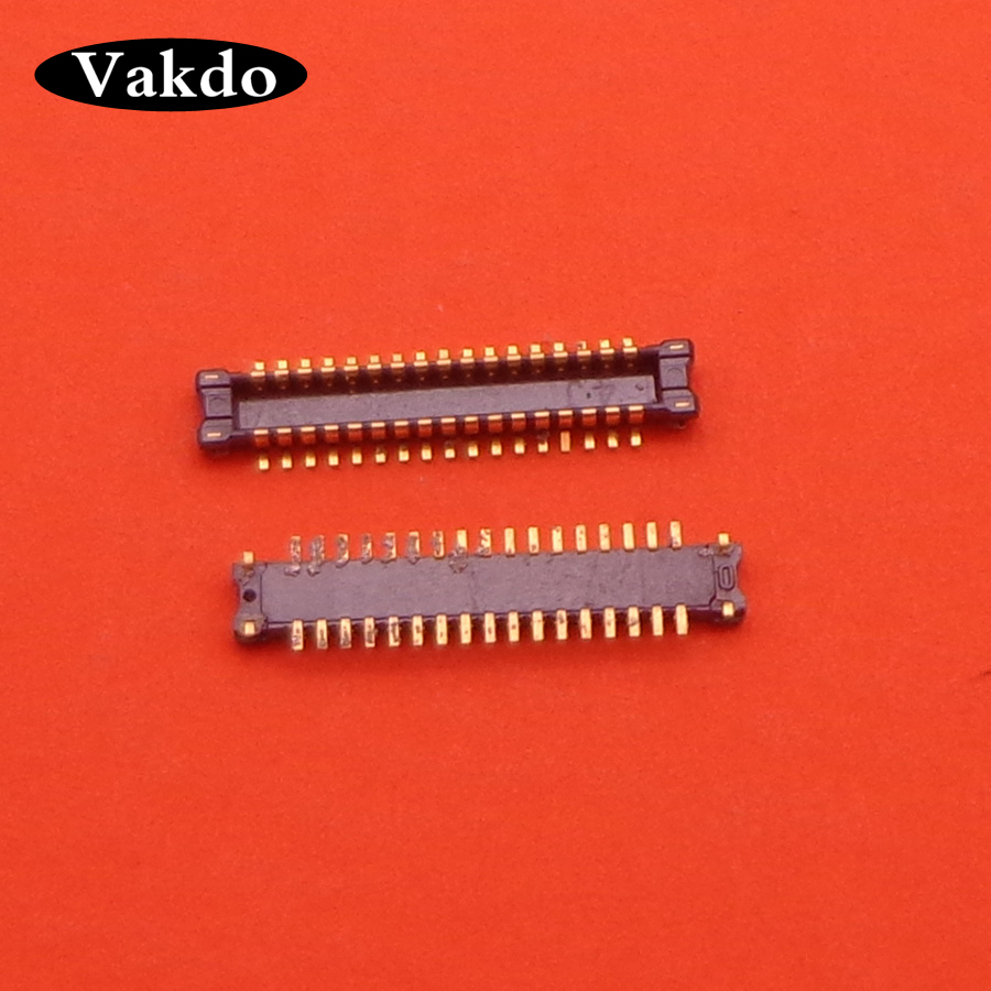 2pcs/lot FPC Connector For Samsung J3 2017 J330 J330F SM-J330 LCD Display Screen On Motherboard 34pin