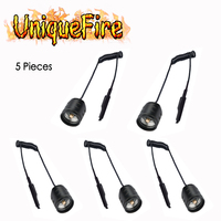 UniqueFire 5 pcs/lot Dual Control Remote Pressure Switch / rat tail For UF T20 IR Light Night Vision Flashlight Torch