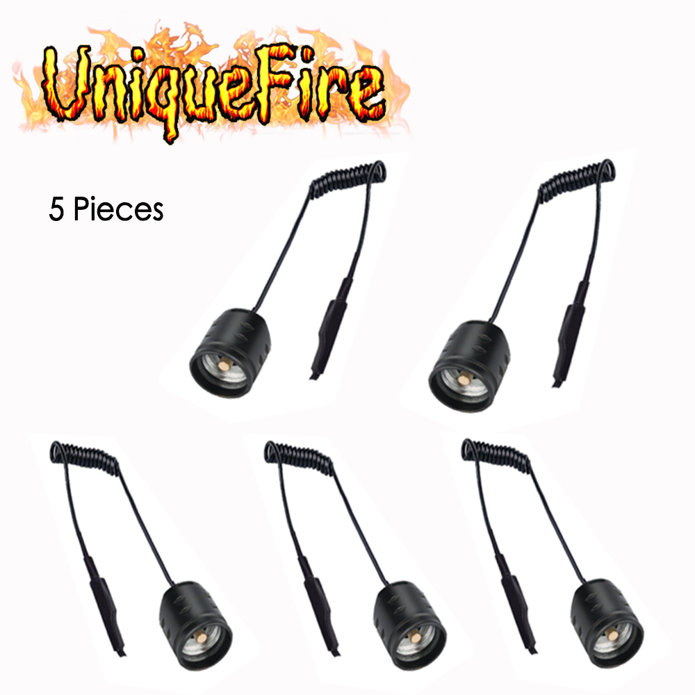UniqueFire 5 pcs/lot Dual Control Remote Pressure Switch / rat tail For UF T20 IR Light Night Vision Flashlight Torch