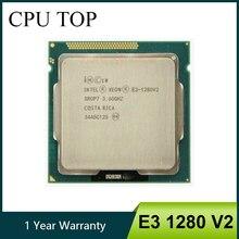 إنتل زيون E3 1280 V2 8M مخبأ 3.60GHz SR0P7 LGA1155 معالج وحدة المعالجة المركزية