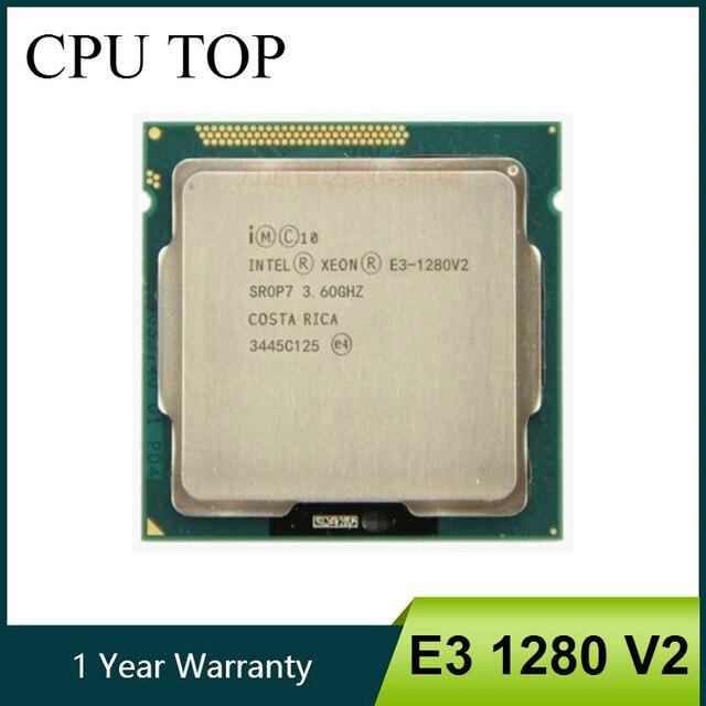 Intel Ксеон E3 1280 V2 8 м Кэш 3,60 ГГц SR0P7 LGA1155 Процессор процессор