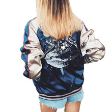 Manufacturers Selling New Women Fashion Embroidered Jacket Slim Zipper Women Jacket Spring