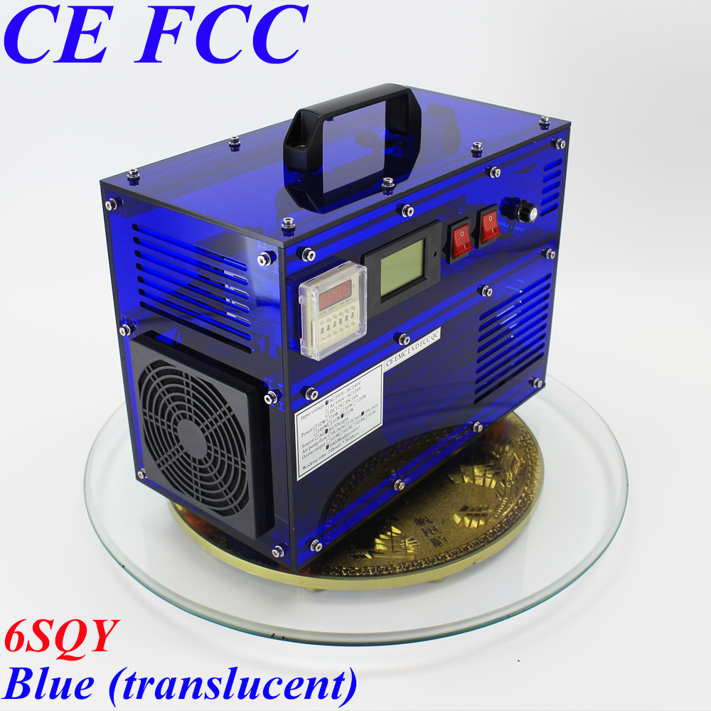 CE EMC LVD FCC enchufe de fábrica BO-1030QY 0-10 g/h 10 Gram ajustable máquina de ozono lavadora ozonizador esterilizador