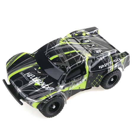12km/H 1:32 Full Scale RC Car Professional Servo Remote Control Kids Vehicle Toy Radio Control Car Model Toys For Children Gifts