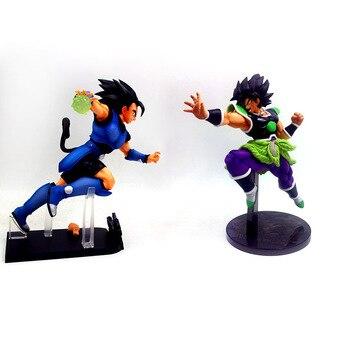 ใหม่ Dragon Ball ภาพยนตร์ DBZ FZ ZERO Broli Broly Vegeta Super Saiyan Goku พีวีซี Action Figure Celloction ของเล่น