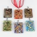 Glitter Italian venetian lampwork blown murano glass pendants for necklaces jewelry cheap fashion jewellery