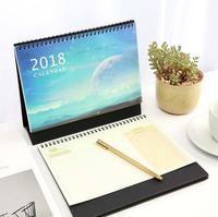 Our Earth 2018 Desk Calendar Cute Table Agenda Study Scheduler To Do List Planner Memo