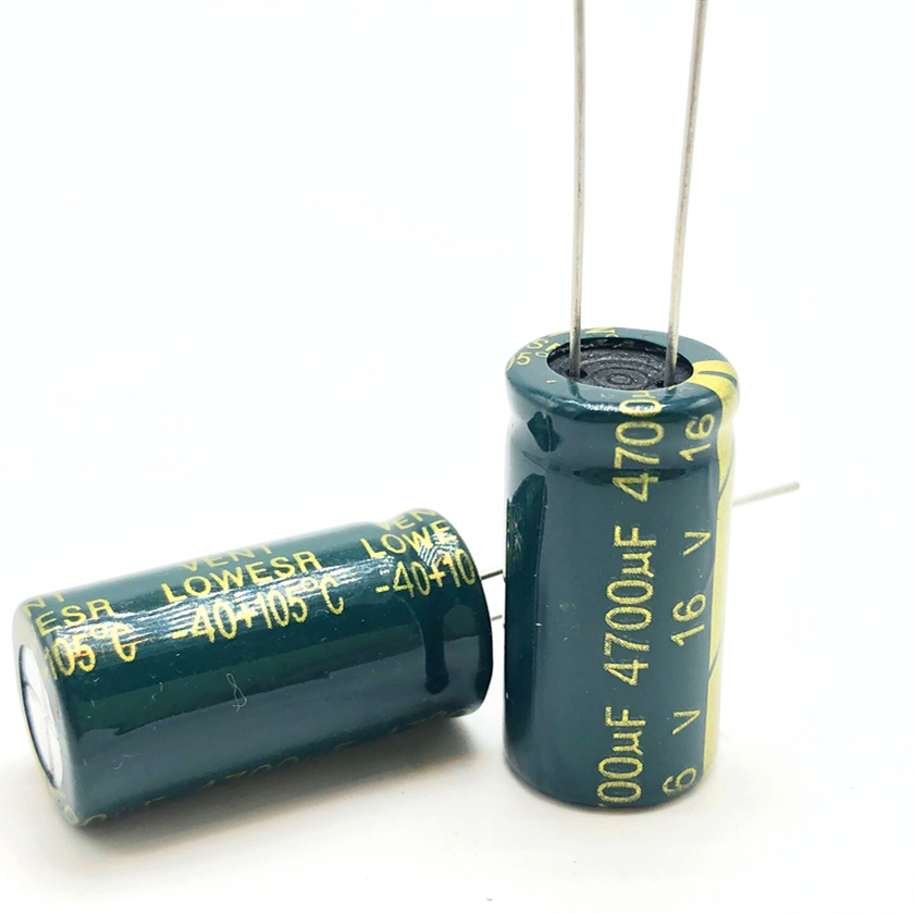 10pcs 16v 4700uf  13*25  High Frequency Low Impedance Aluminum Electrolytic Capacitor 4700uf 16v 20%