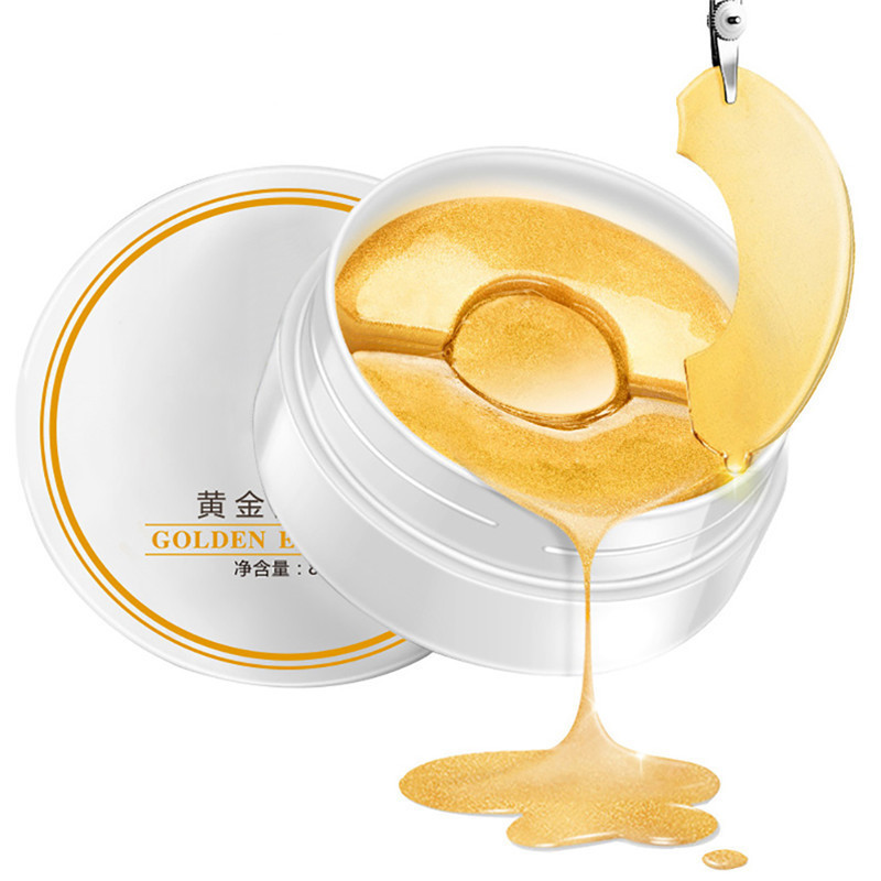 90Pcs Gold Osmanthus Eye Mask Women Collagen Gel Whey Protein Face Care Sleep Eye Patches Anti-Puffiness Anti-Aging Dark Circle протеин vp laboratory 100 % platinum whey ваниль 910 г банка