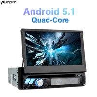 Pumpkin 1 Din 7 Inch Android 5 1 Universal Car DVD Player GPS Navigation Subwoofer Car
