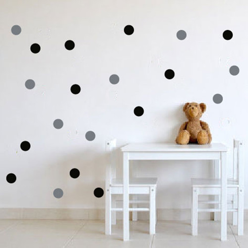 Multi Colors Polka Dots Wall Stickers Baby Nursery Custom Wall Decals DIY  Vinyl For Kids Room Wall Art P5 2 In Wall Stickers From Home U0026 Garden On ...