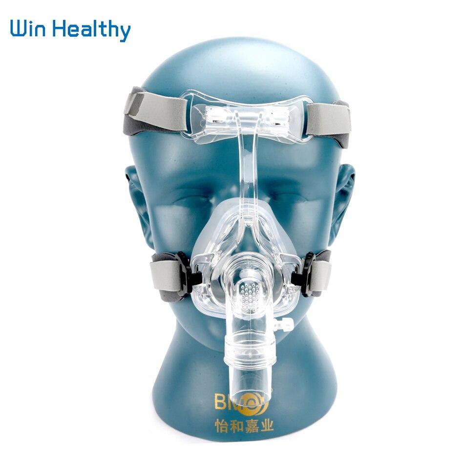 BMC NM2 Maschera Nasale Con Copricapo E La Testa pad S/M/L diverse Dimensioni Adatte Per CPAP Macchina Oxygenerator Collegare il Tubo E faccia