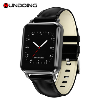 Rundoing Q3 Advanced ECG Smart watch IP67 waterproof heart rate blood pressure Smartwatch Fashion Fitness tracker new garmin watch 2019