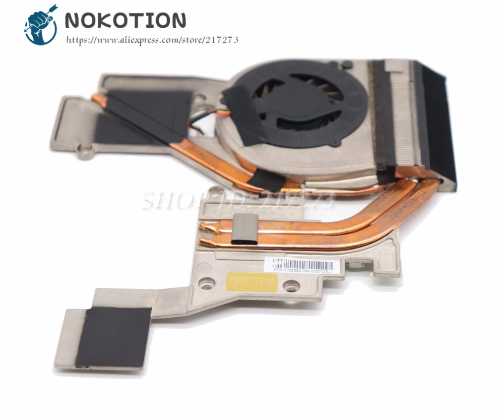 NOKOTION NOTEBOOK PC Radiator For Acer aspire 8943G Laptop Heatsink Cooling FAN 100% Tested