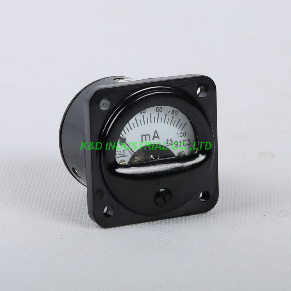 1pc VU Panel Meter With Warm Back Light for Audio Level 300B EL84 Tube Amplifier
